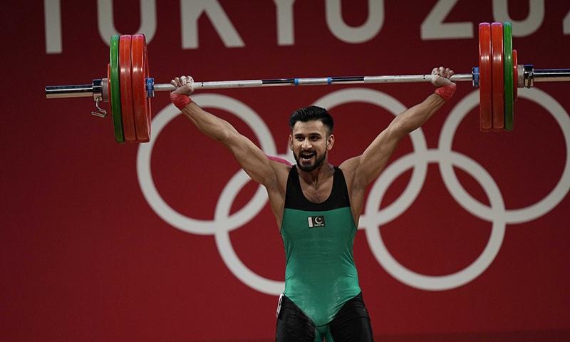 At the Olympics, Pakistani weightlifter Talha Talib won the hearts of Pakistanis.