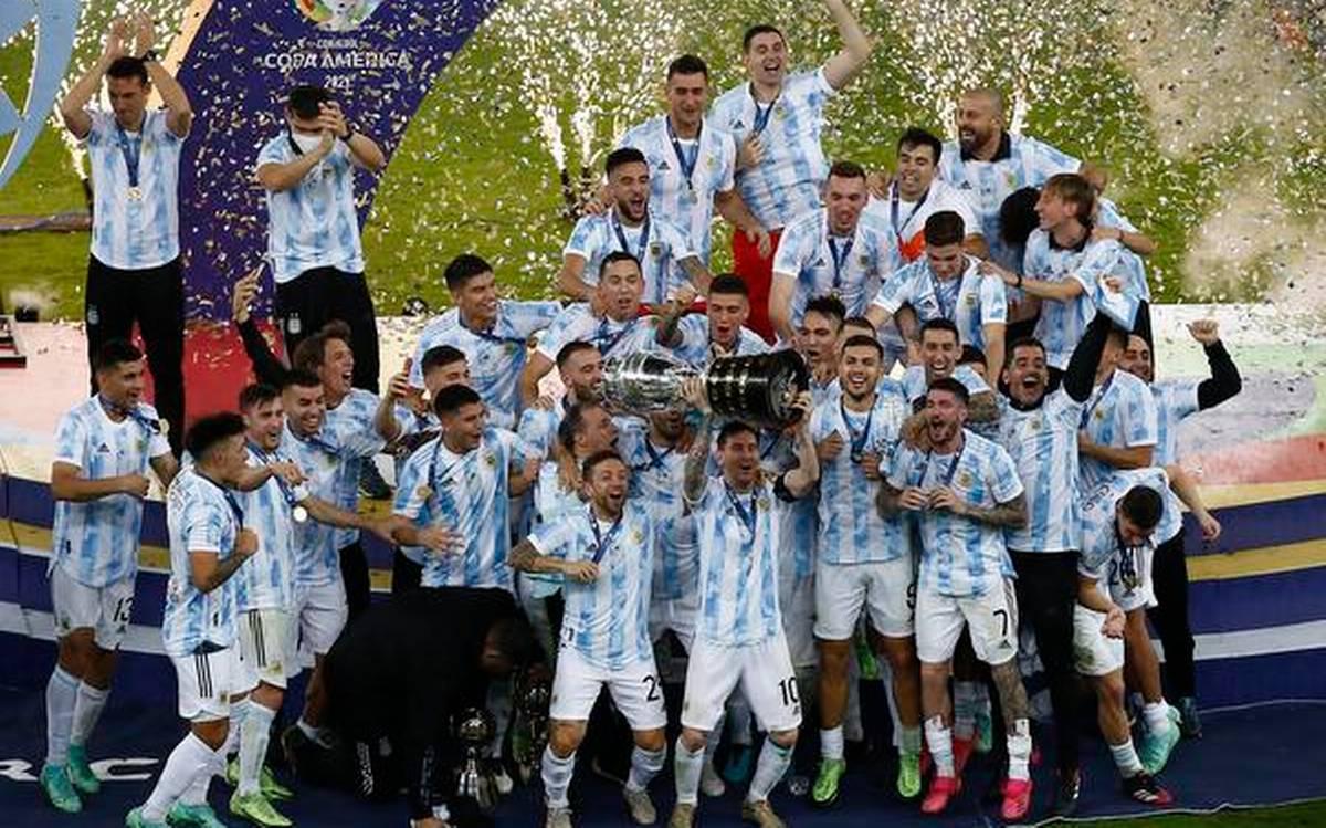 ارجنٹائن کے میسی نے پرستاروں کے دل جیت لیے :برازیل کو شکست