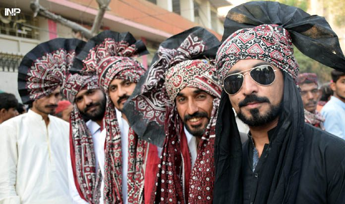 Sindh's culture is brought to life by a kinetic sculptor.
