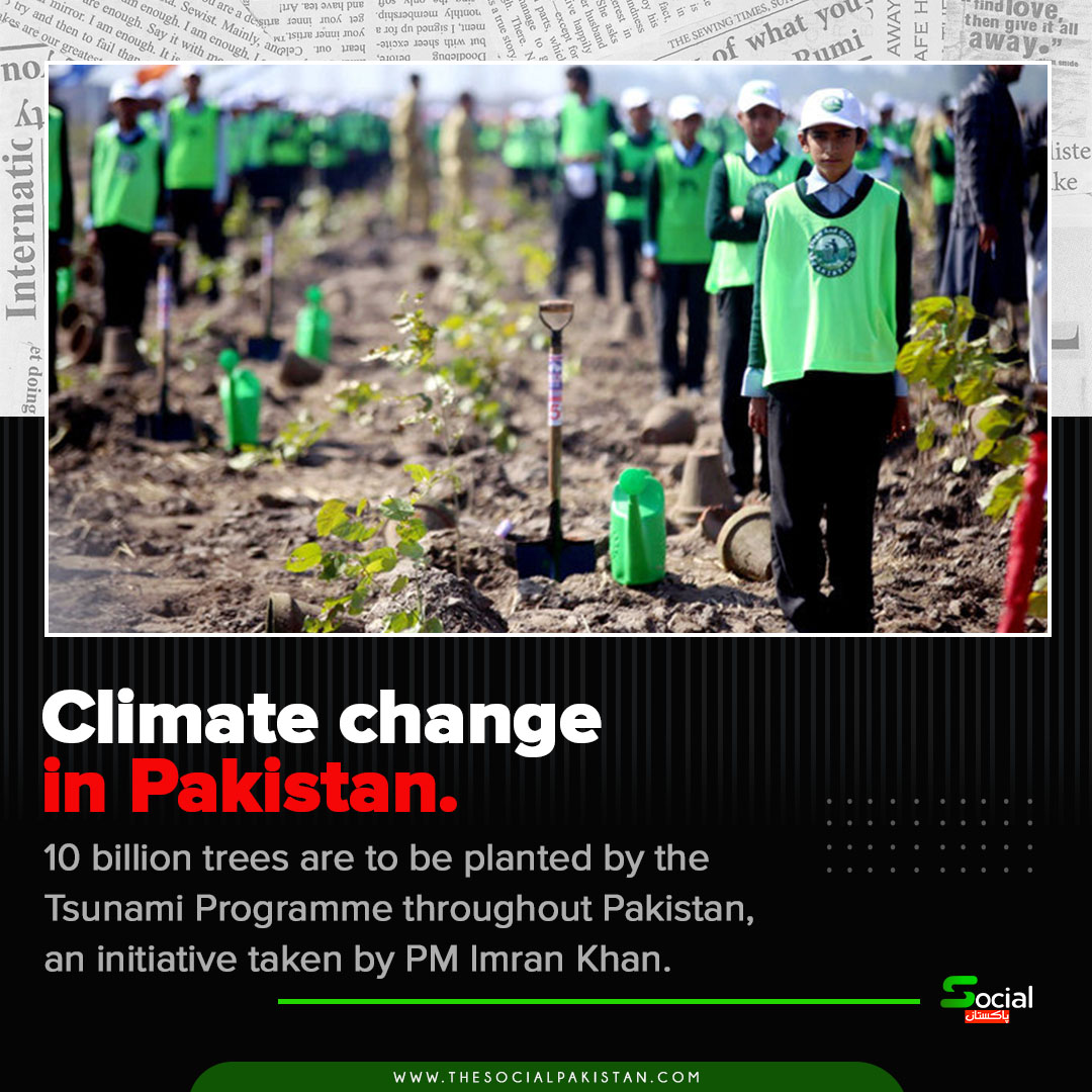 Climate change in Pakistan.