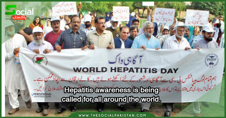 Hepatitis awareness is being called for all around the world.