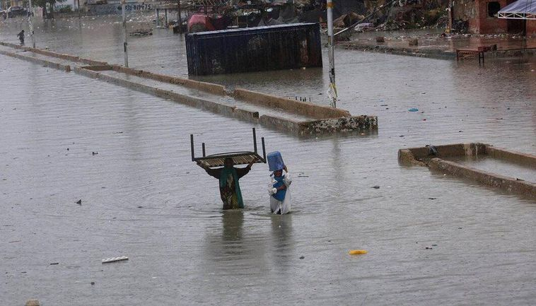 In Balochistan, heavy rain has killed two people and injured nine.