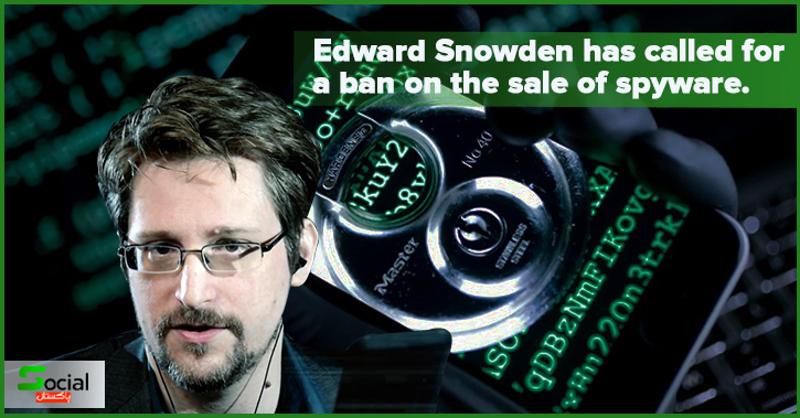 In the wake of the Pegasus disclosures, Edward Snowden has called for a ban on the sale of spyware.