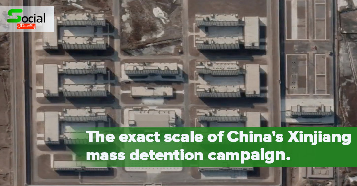 The exact scale of China's Xinjiang mass detention campaign.