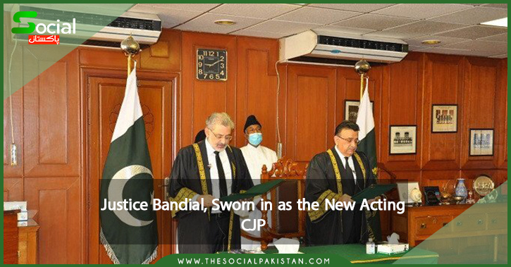 Justice Bandial, as the New Acting CJP