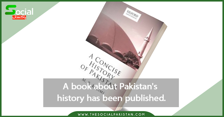 A book about Pakistan's history has been published.