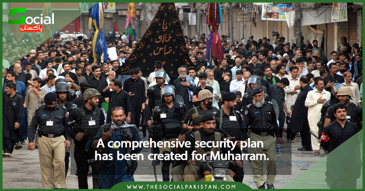 A comprehensive security plan has been created for Muharram.