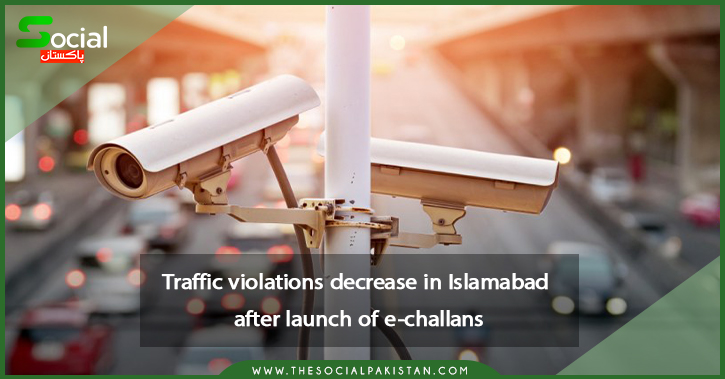 In Islamabad, thousands of e-challans are helping to reduce traffic violations.