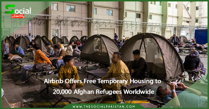 Afghan refugees can stay for free on Airbnb for a limited time.