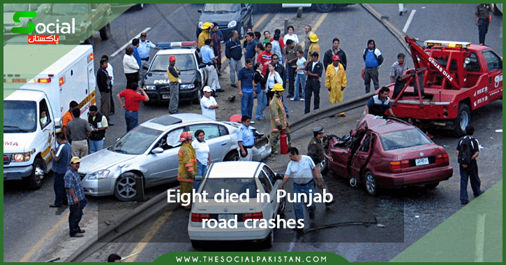 Eight assassinated in Punjab road crashes