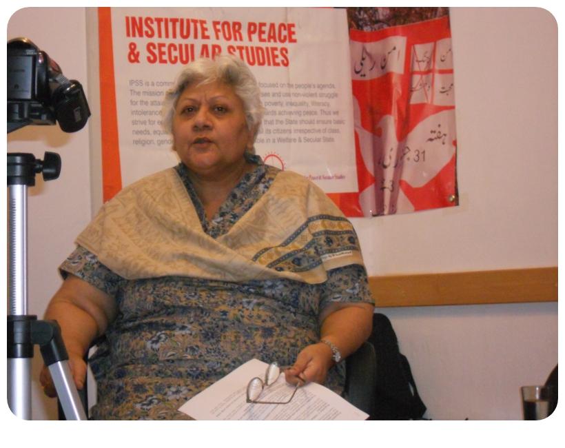 The Pioneer of Feminist Movement in Pakistan, Dr. Rubina Saigol Passes Away