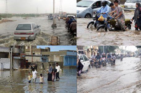 کراچی میں 24 گھنٹوں کے دوران مزید بارشوں کی پیش گوئی
