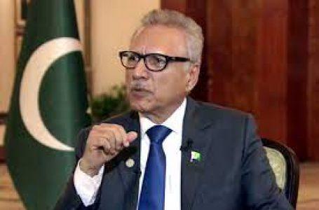 پارلیمنٹ کے مشترکہ اجلاس کے دوران میڈیا گیلری سنسان :عارف علوی بھی پریشان