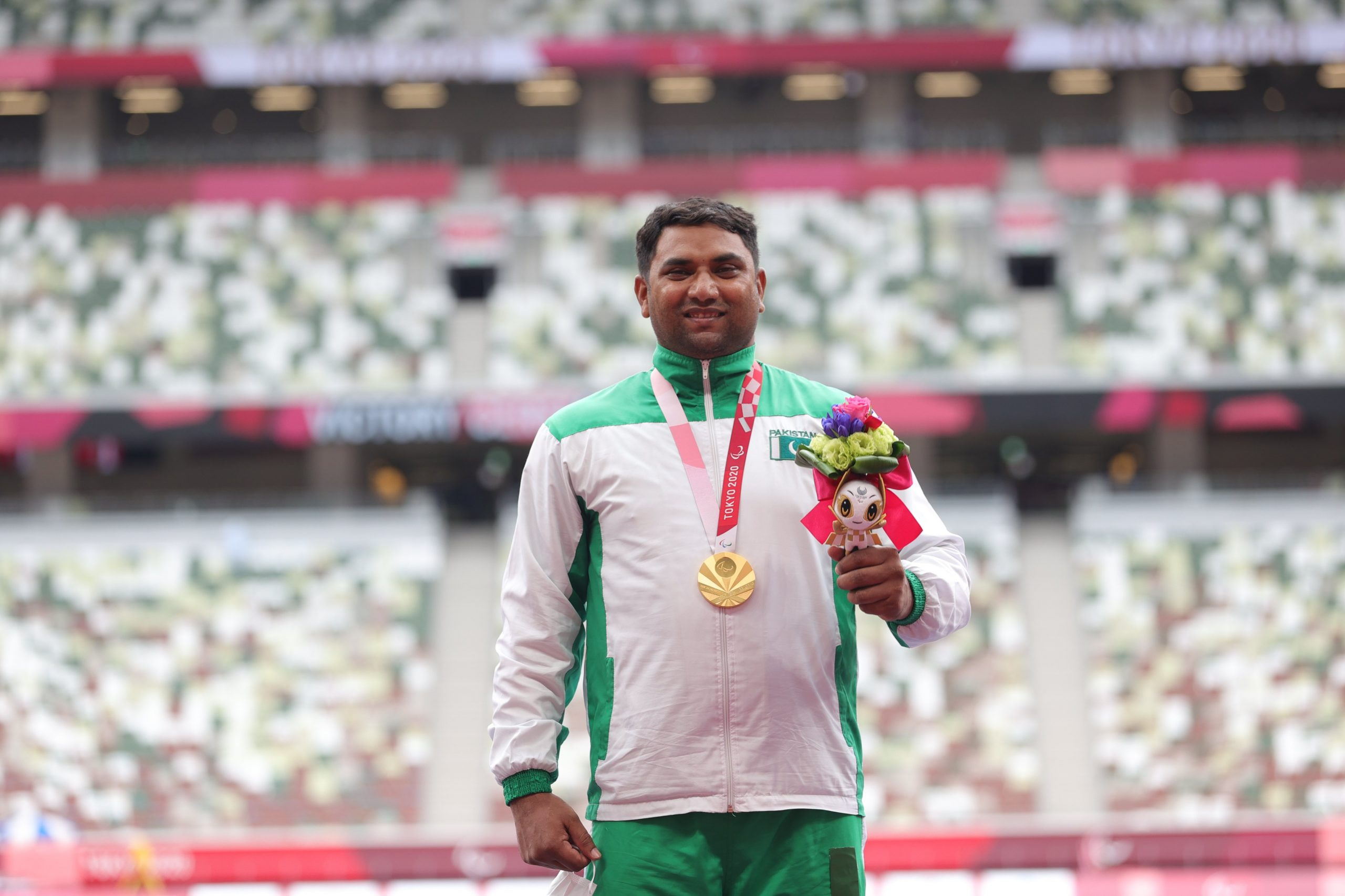 Pakistan Bags First Gold Medal at Tokyo